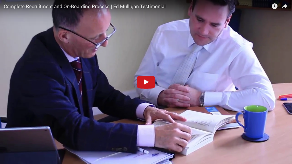 Ed Mulligan – Recruitment and on boarding process