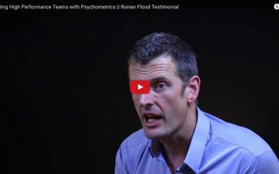 Building High Performance Teams – Ronan Flood