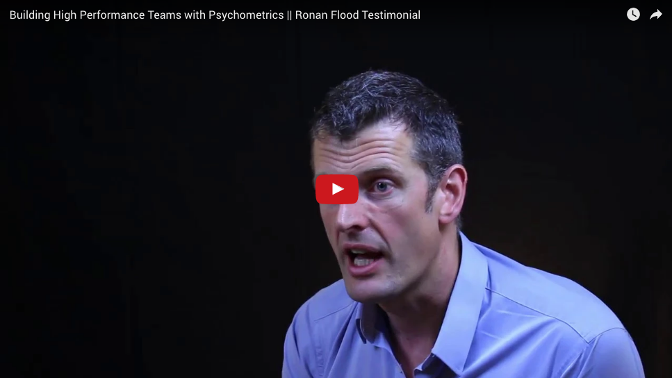 Building High Performance Teams – Ronan Flood